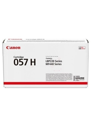 Canon Crg-057 H Bk Siyah Toner 3010C002 Siyah